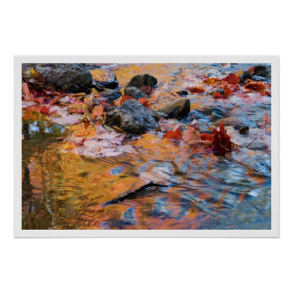 lavado del otoño poster