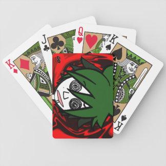 Lavado el cerebro barajas de cartas