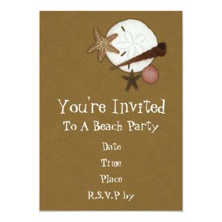 Lavado en tierra vare la invitación del fiesta
