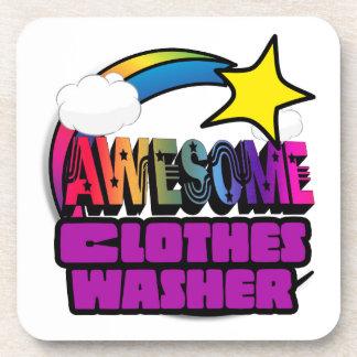 Lavadora de ropa impresionante del arco iris de la posavasos de bebidas