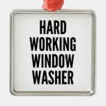 Lavadora de ventana de trabajo dura ornatos