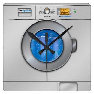Lavadora Reloj Cuadrado