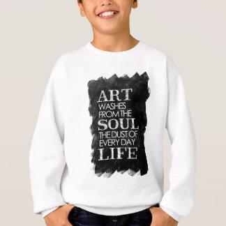 Lavados del arte del alma… sudadera