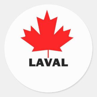 Laval, Quebec Classic Round Sticker