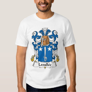 Lavallee Family Crest T-shirt
