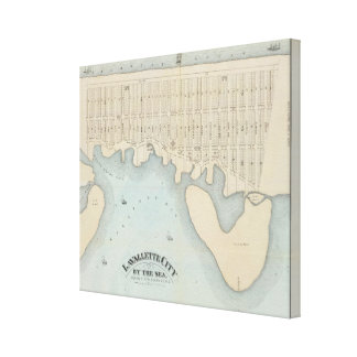 Lavallette City by the Sea, Squan Beach, NJ Stretched Canvas Prints