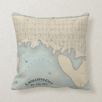 Lavallette City by the Sea, Squan Beach, NJ Throw Pillow