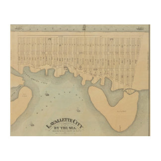 Lavallette City by the Sea, Squan Beach, NJ Wood Wall Decor
