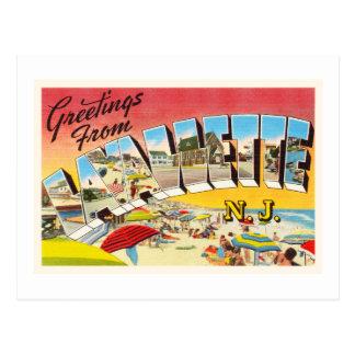 Lavallette New Jersey NJ Vintage Travel Postcard- Postcard