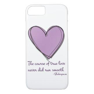 Lavanda bonita el curso del amor verdadero funda iPhone 7