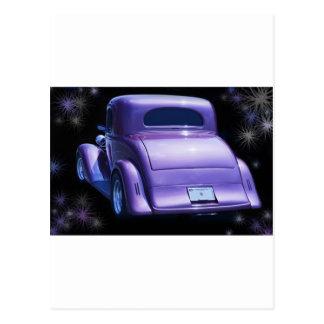 Lavanda clásica Chevy púrpura - Chevrolet del Tarjetas Postales