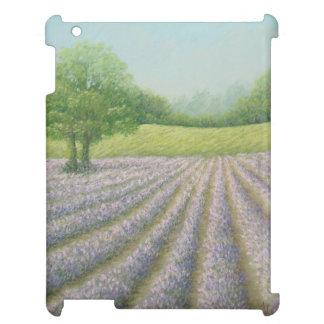 Lavanda de Mayfield en la floración, caso del iPad