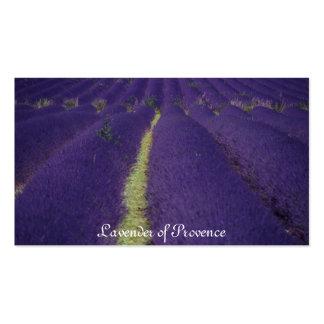 Lavanda de Provence Tarjetas De Visita
