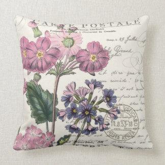 lavanda francesa del vintage moderno floral cojín decorativo