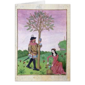 Lavanda, Hellebore, y pariente del pepino Tarjeta De Felicitación