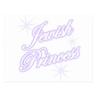 Lavanda judía de la princesa tarjetas postales