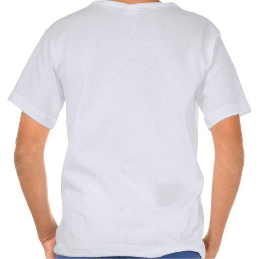 Lavanda moderna del dulce del mapa del estado de camiseta