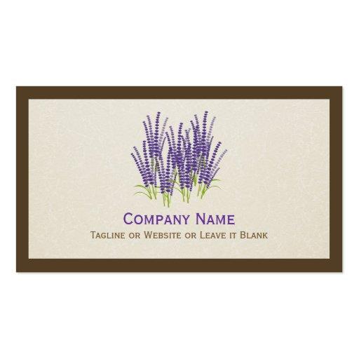 Lavanda púrpura elegante - elegante moderno tarjetas de visita