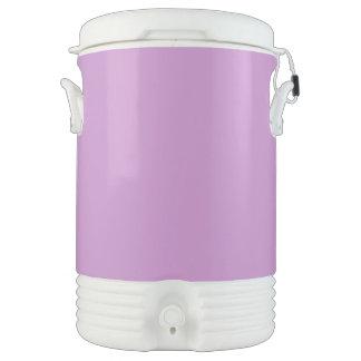 Lavanda púrpura enfriador de bebida igloo