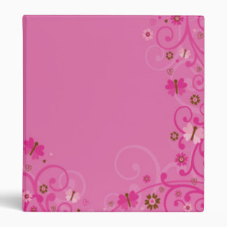 Lavanda y carpeta rosada de la mariposa