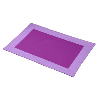 Lavanda y Placemat púrpura Mantel Individual