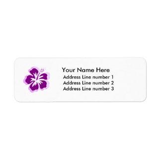 lavander flower Label