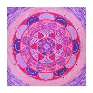 Lavander Mandala Canvas Print
