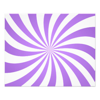 Lavander spiral design flyer