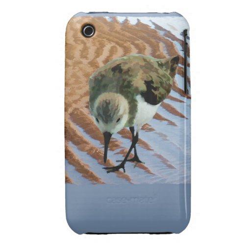 Lavandera en la playa Case-Mate iPhone 3 carcasa