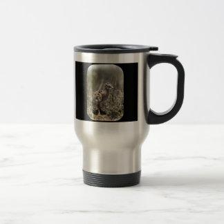 Lavandera manchada taza de café
