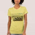 Lavanderas de Eugene Boudin- en los bancos de Touq Camisetas