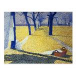 Lavándose en el Sun, 1905 Tarjetas Postales