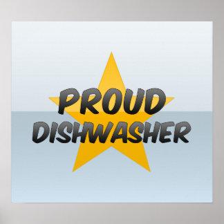Lavaplatos orgulloso posters
