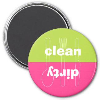 Lavaplatos rosado de muy buen gusto limpio sucio d imán