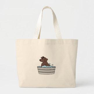 Lavar el perro bolsa