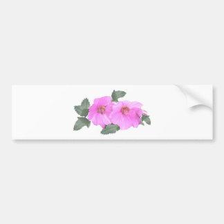 Lavatera or Tree mallow Products Bumper Sticker