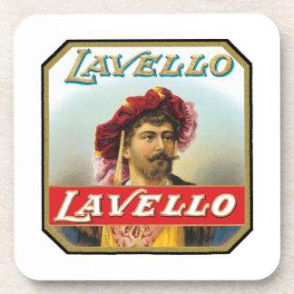 Lavello Vintage Cigar Label Drink Coaster