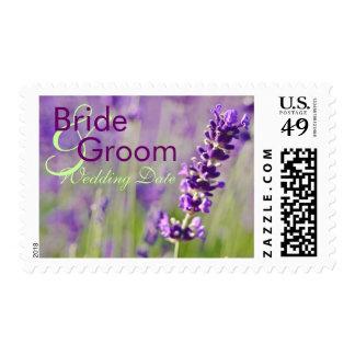 Lavendar • Bride & Groom Stamp