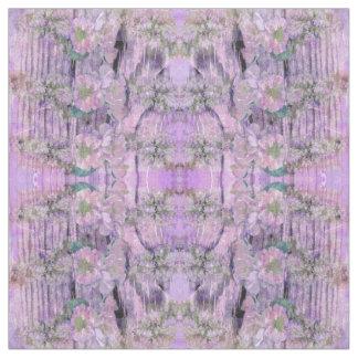 Lavendar Floral Fabric