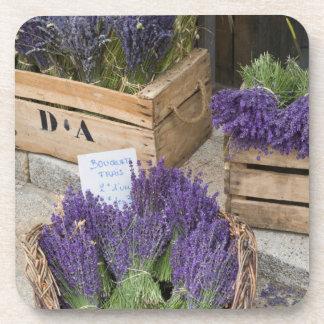 Lavendar for sale, Provence, France Coaster