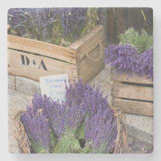 Lavendar for sale, Provence, France Stone Coaster
