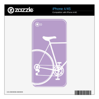 Lavendar iPhone 4/4S skin Decals For iPhone 4