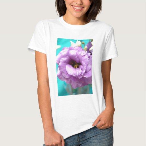 lavendar lizyanthus tshirt