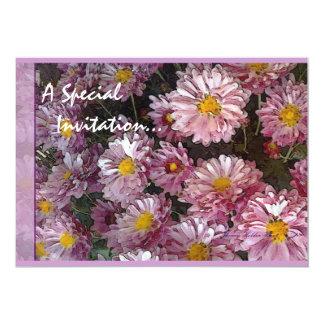 Lavendar Petals: A Special Invitation