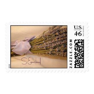 Lavendar Postage stamp