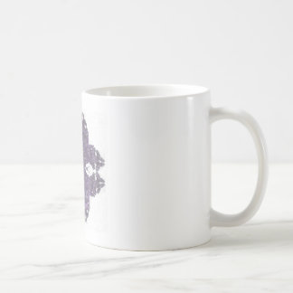 Lavendar Split Petal Fractal Art Coffee Mug