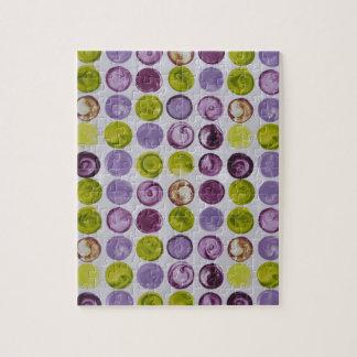 Lavendar Swirls Funky Pattern Puzzle