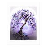 Lavendar Tree of Life Postcard