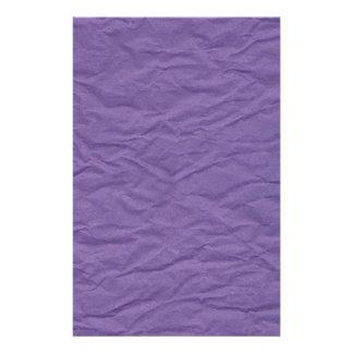 Lavendar Wrinkled Paper Texture