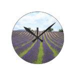 Lavendel Field in the Provence Clocks